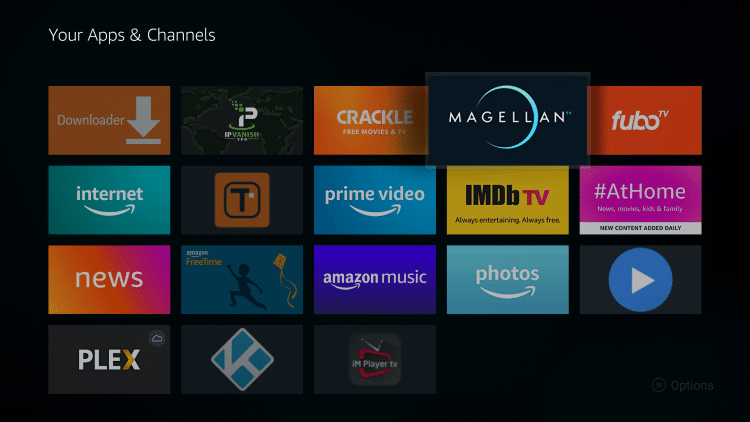 Place MagellanTV within your Apps & Channels wherever you prefer