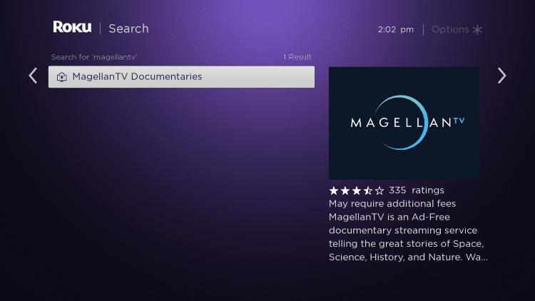 Click MagellanTV Documantaries