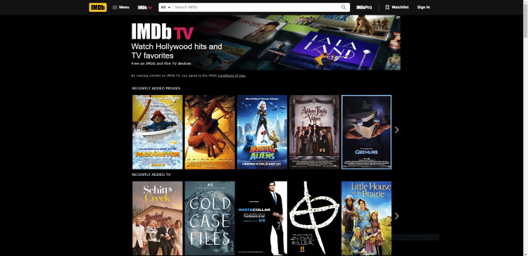 imdb tv putlocker