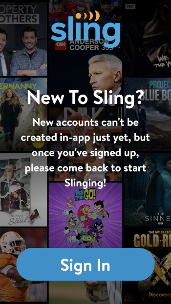 Sling TV will launch