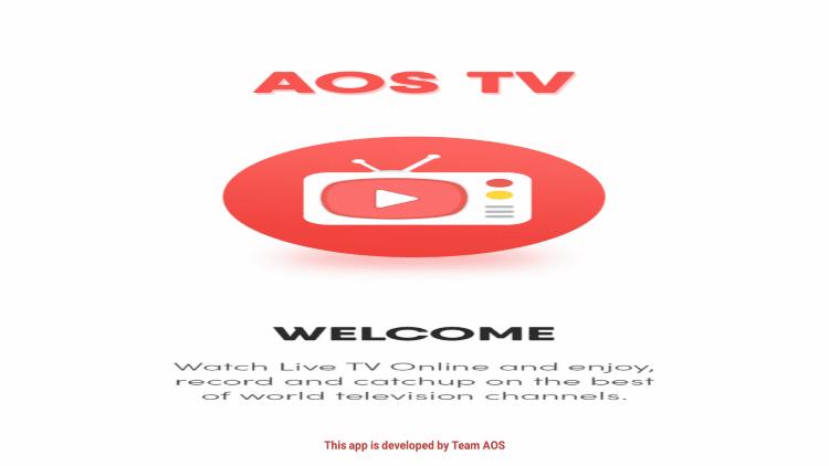 Launch AOS TV