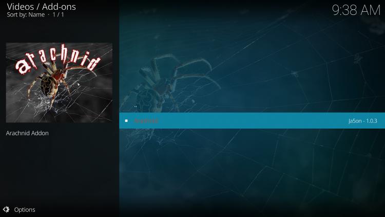 Click Arachnid