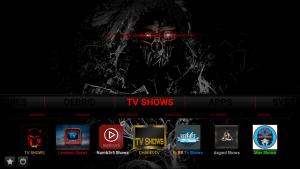 dark kodi build tv shows