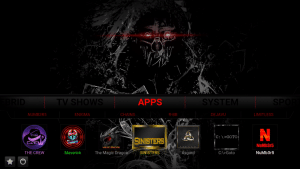 dark kodi build apps