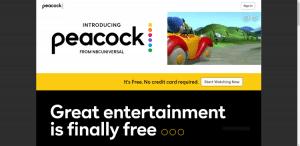 peacock tv website