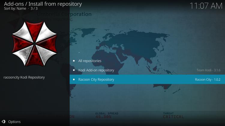 click racoon city repo