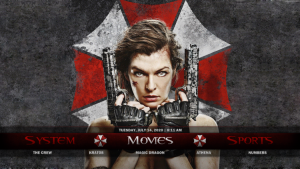resident evil kodi build movies