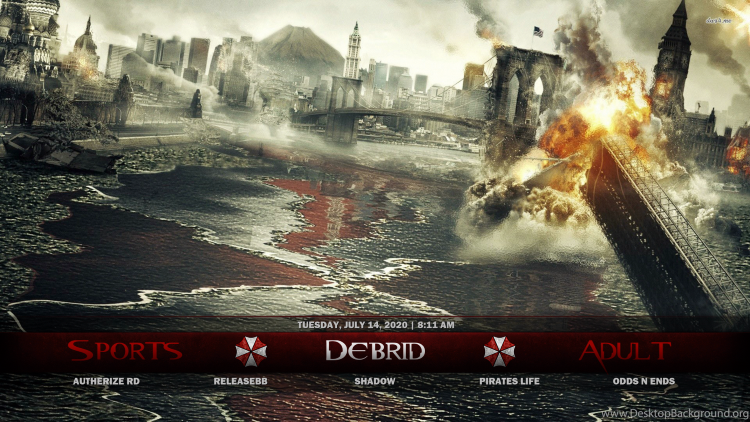 The Resident Evil Kodi Build will launch