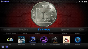 titanium kodi build tv shows