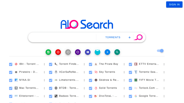aio search torrent search engine