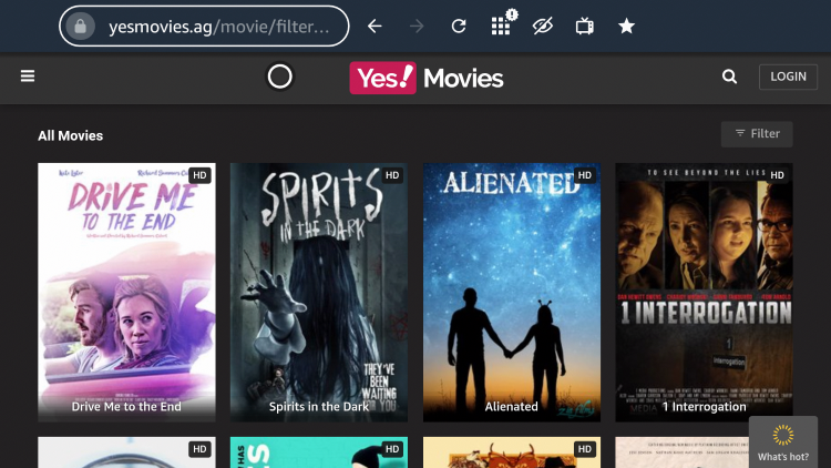 Although there are some ads present on the site, one of the best parts about YesMovies is that no sign up is required!