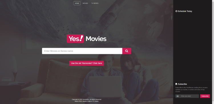 Using YesMovies on a PC, tablet, or mobile device may be the easiest method of using the site for movies & TV shows.