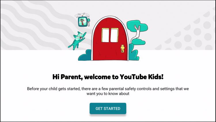 click get started