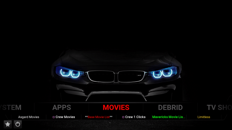 1874 cars xon kodi build movies