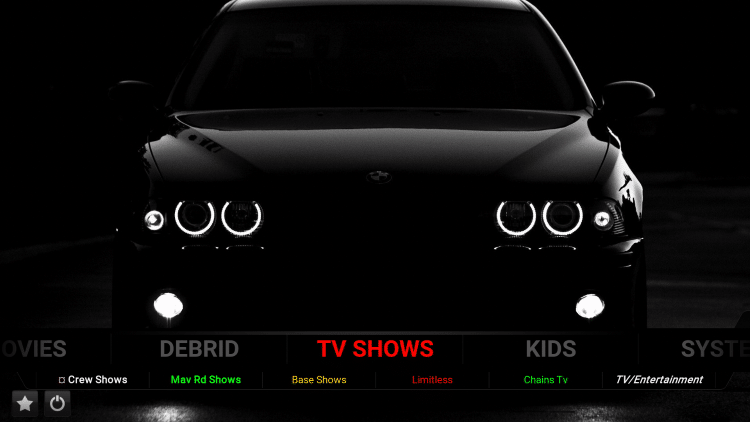 1874 cars xon kodi build tv shows