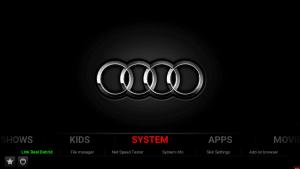 1874 cars xon kodi build system