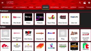 live net tv apk movies