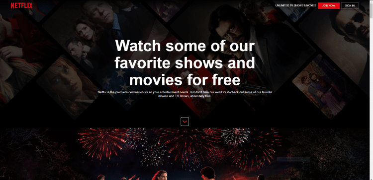 Netflix Comes Out With New Free Section