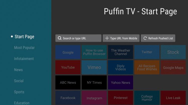 puffin tv amazon silk browser alternatives