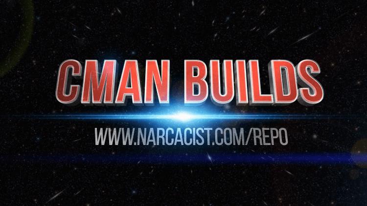 The cMaN Kodi Build will launch