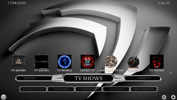 cmanfluence kodi build tv shows
