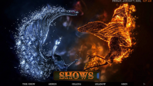 fire and ice kodi build shows