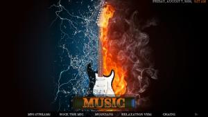 fire and ice kodi build music