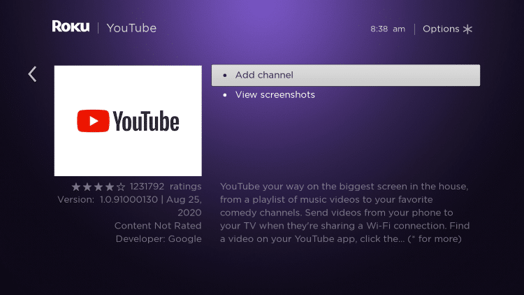 ClickAdd channel