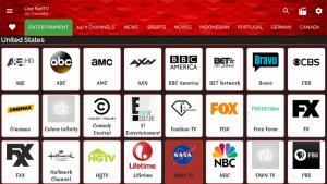 live net tv us channels