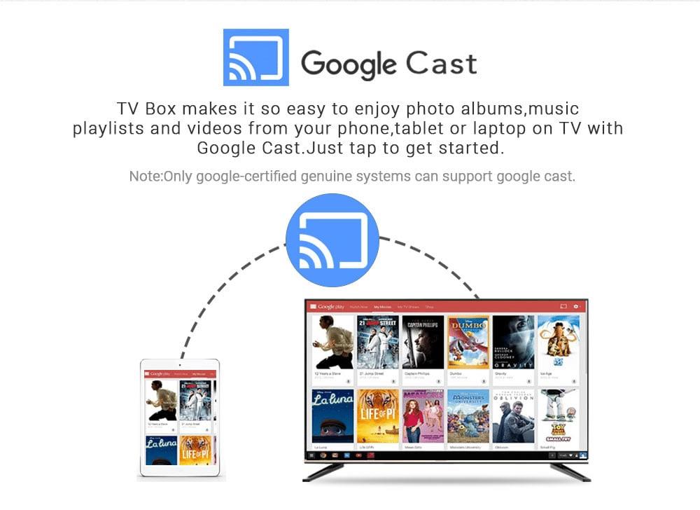 Chromecast Support