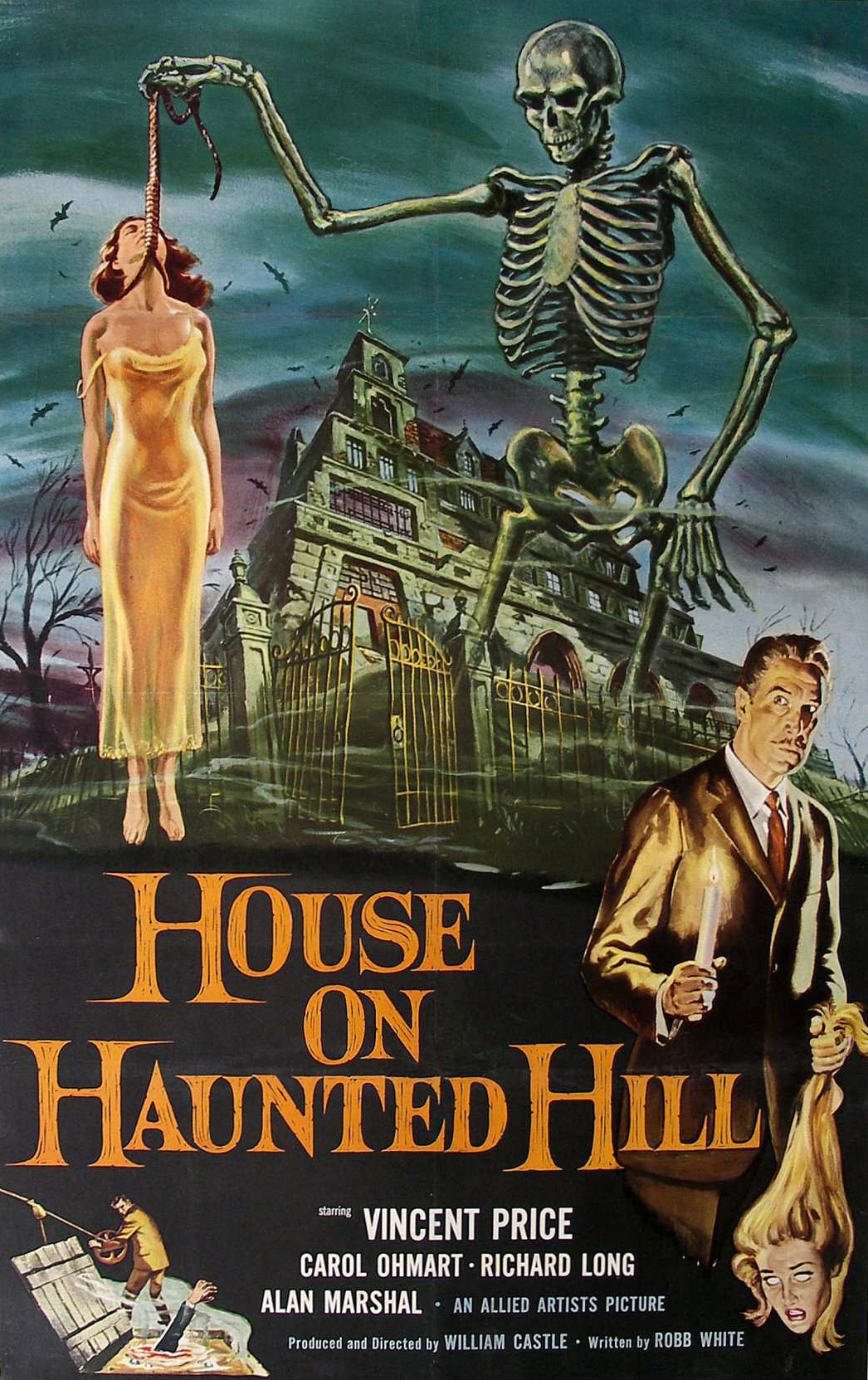 House on Haunted Hill - Best Movies to Stream Online for Free