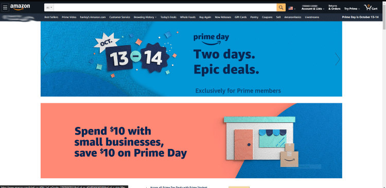 If you visit the official Prime Day Page on the Amazon website you will notice some of the featured deals.
