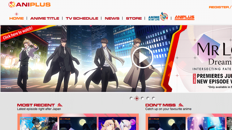 anime streaming sites aniplus