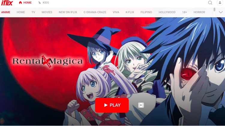 anime streaming sites iflix