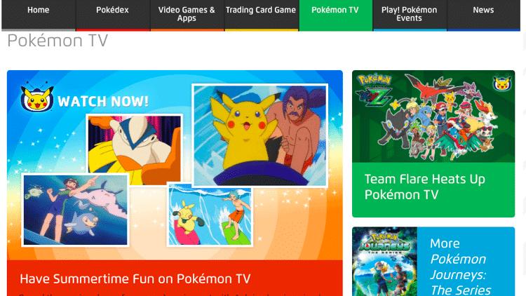 anime streaming sites pokemon tv