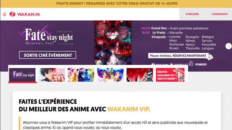 anime streaming sites wakanim