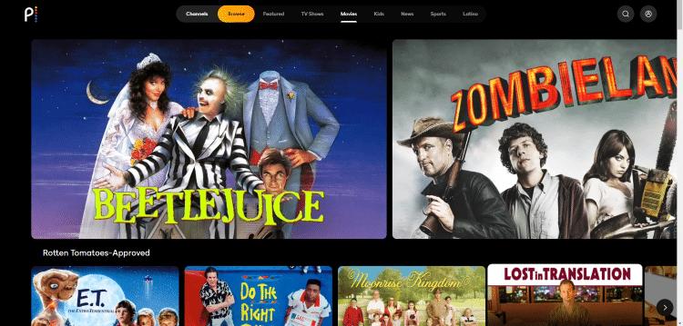 peacock tv best free movie websites