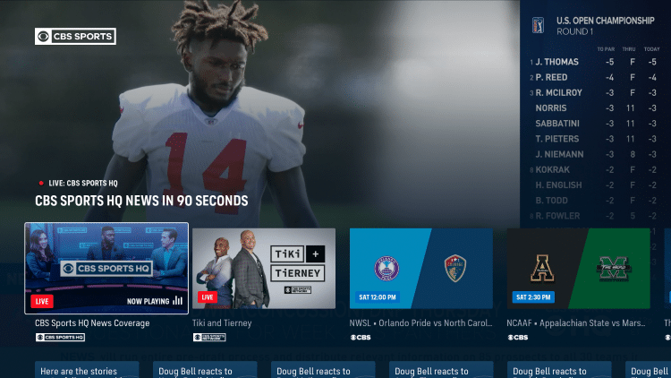 That's it! You have successfully installed the CBS Sports app on your Firestick/Fire TV.