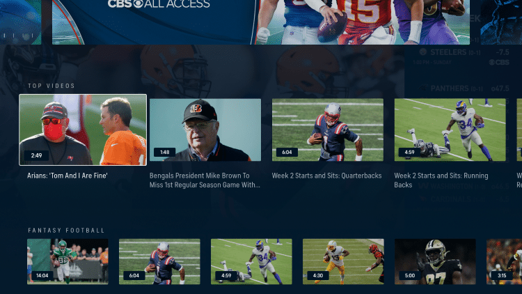 For these reasons and more, we have included CBS Sports within our lists of Best Firestick Apps and Best Streaming Apps.