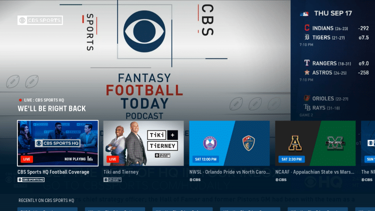 That's it! You have successfully installed the CBS Sports app on your Roku device.