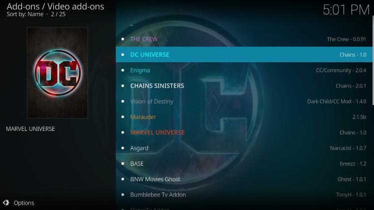 Select DC Universe