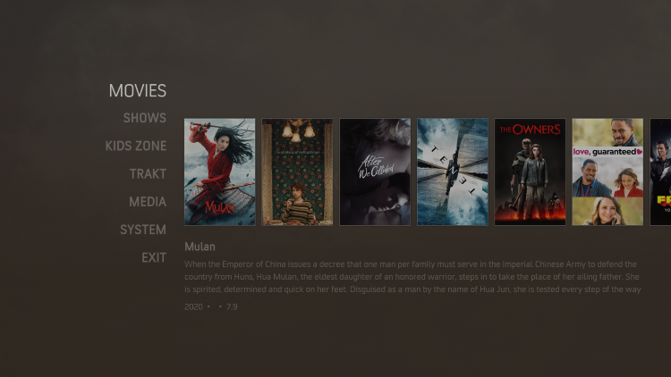 That's it! The Nocturnal Kodi Build is now successfully installed