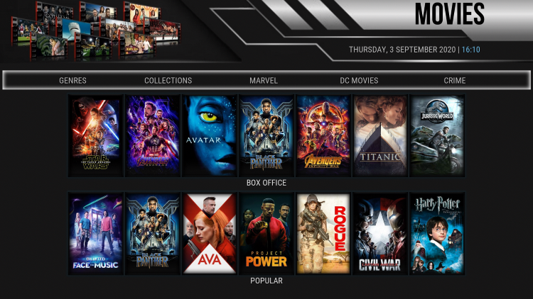 noxos kodi build movies