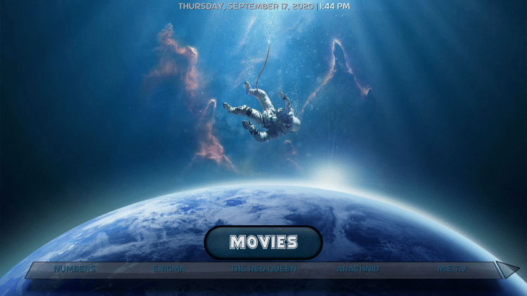 That's it! The Planetarium Kodi Build is now successfully installed