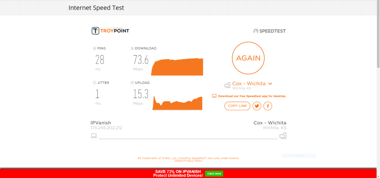 vpn protocol speed test pc pptp