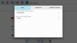 best browser for android tv settings