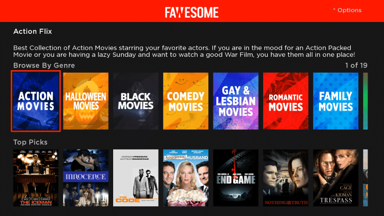 That's it! You have successfully installed the Fawesome TV app on your Roku device.