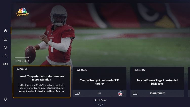 That's it! You have successfully installed the NBC Sports app on your Firestick/Fire TV.