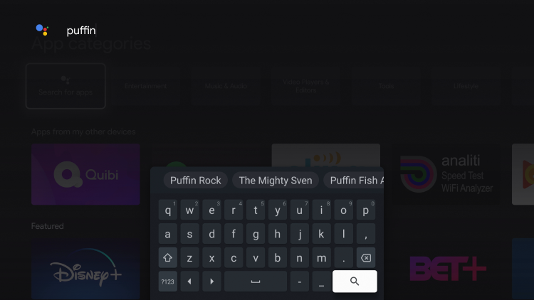 """Search """"puffin"""""""