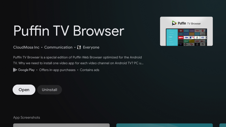 Return back to the home screen of your Chromecast with Google TV